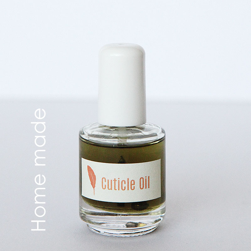 Home made cuticle oil 1