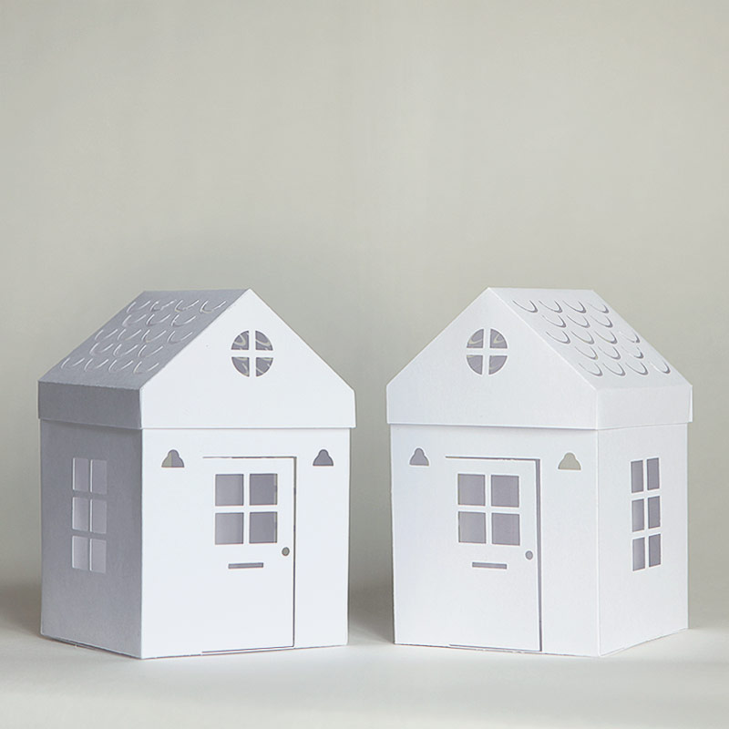 Paper House Template Fun Paper Craft For Kids Templates For Paper