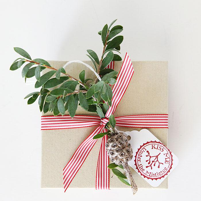 Christmas Jewelry box gift wrap