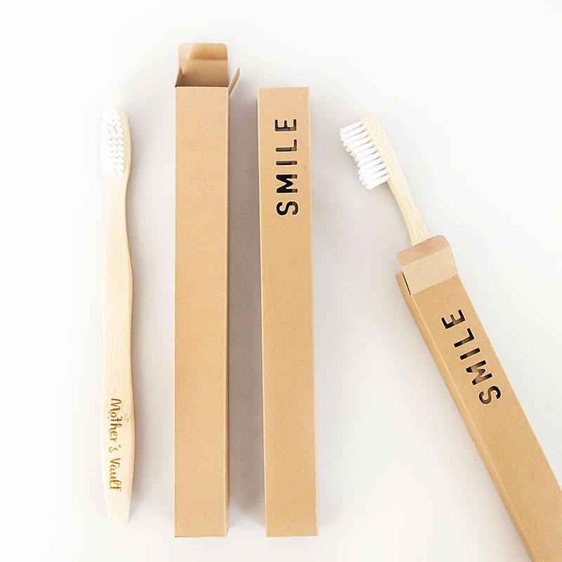SMILE single wrap box for bamboo toothbrush