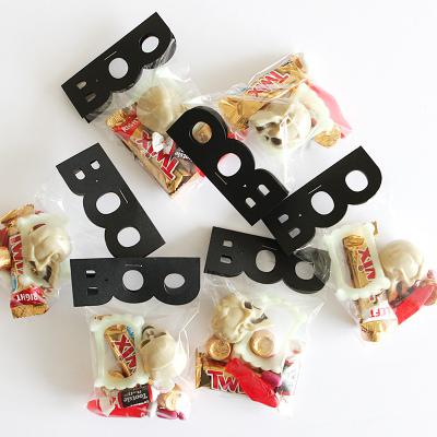 Halloween BOO treat bags, tags and cards